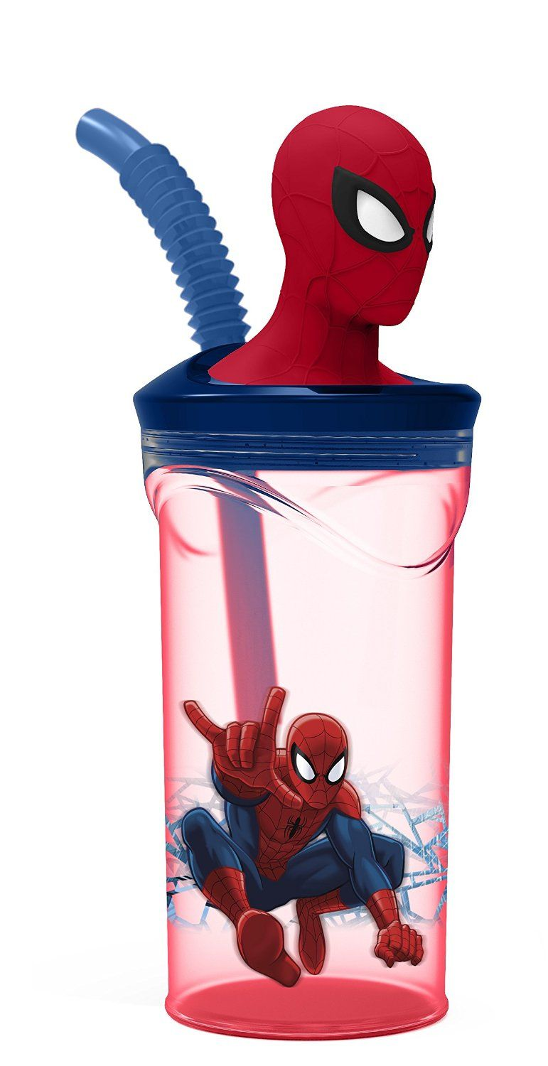 Marvel Baby Gifts Uk : Marvel spiderman d quot figurine tumbler red and