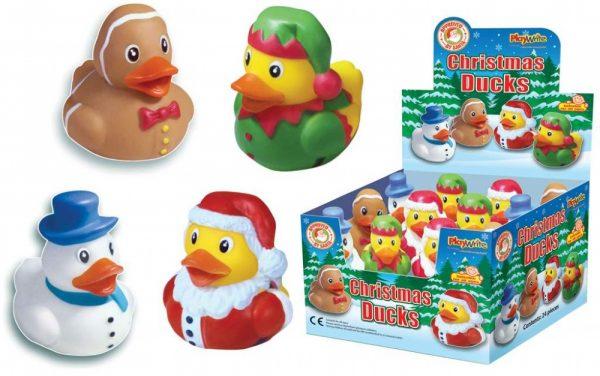 Christmas Duck.Christmas Santa Duck Bath Toy Ideal For Bath Time Fun
