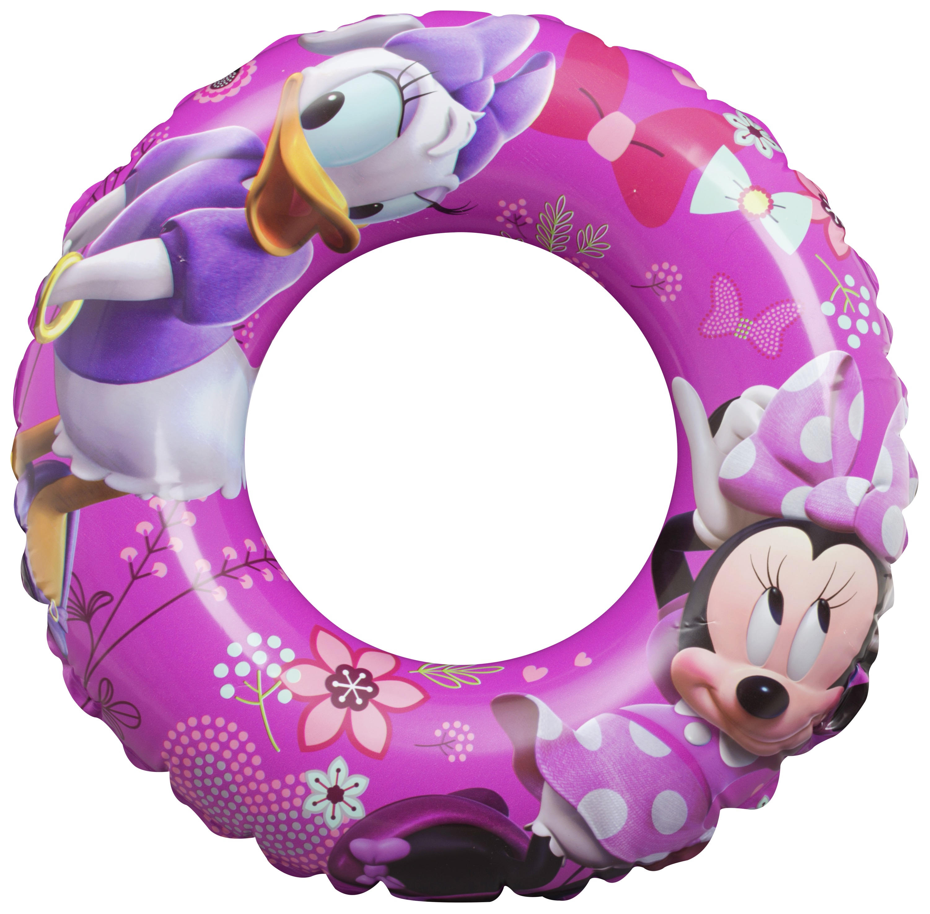 Disney Girls Pink Minnie Mouse Swimming Swim Ring Approx