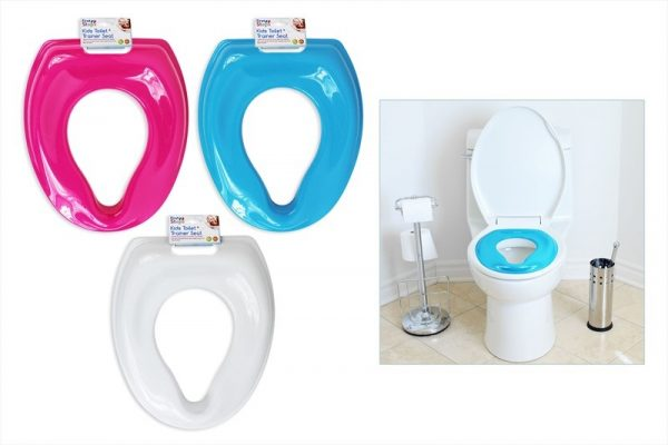 Potty Training Toilet : Kids potty training toilet seat assorted colours bargain wholesalers