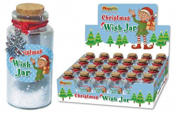 Christmas Magic Wishes Jar