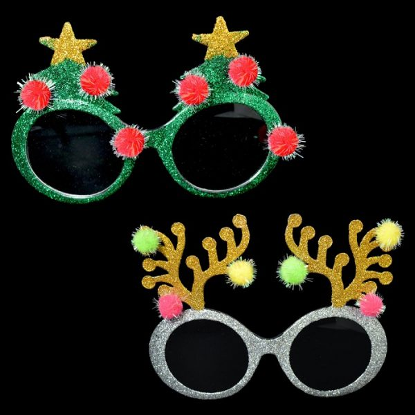 9e60acc0b0f Christmas Novelty Sunglasses Assorted Designs - Bargain WholeSalers