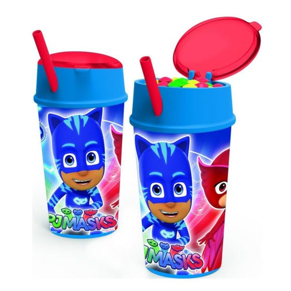 PJ Masks Drinks Bottle With Snack Compartment